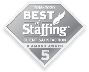 Best of Staffing: Client Satisfaction Diamond Award